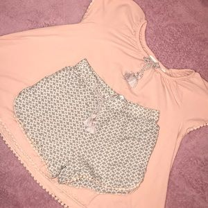 Short matching set